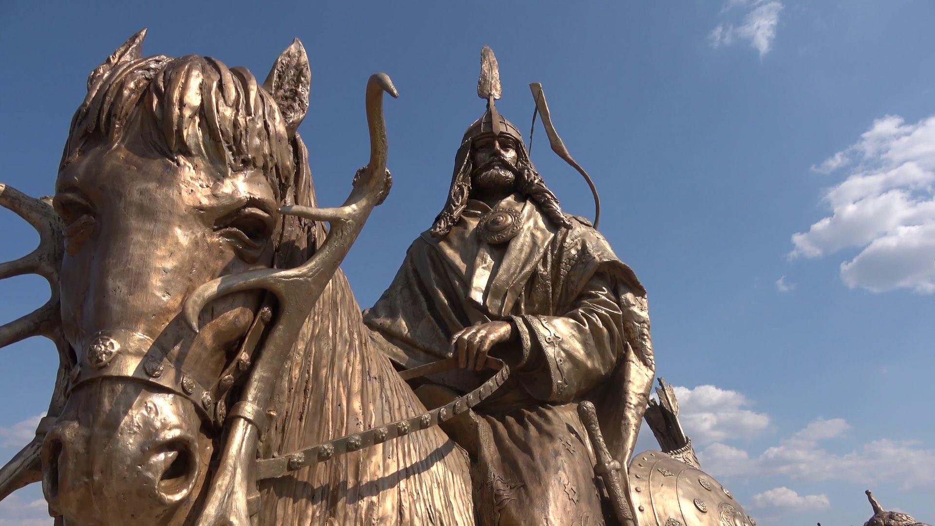 Árpád és vezérei szoborcsoport