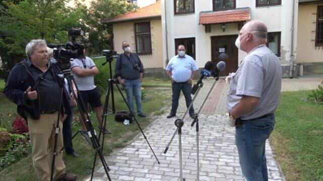 Sajtótájékoztató Csongrádon